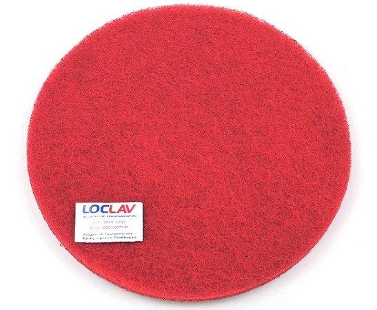 Disco abrasivo para limpeza vermelho 410 para enceradeira