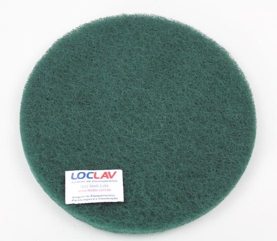Disco limpador verde plus 350 para enceradeira