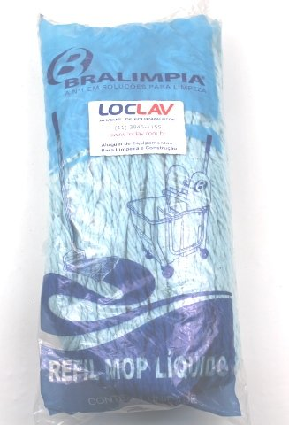 Refil Mop Líquido 400 gramas azul