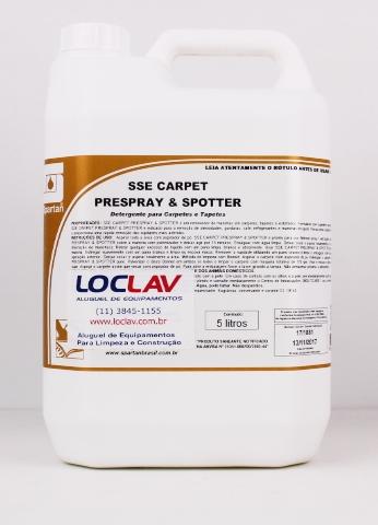 Removedor de manchas sse carpet prespray & spotter  5lts