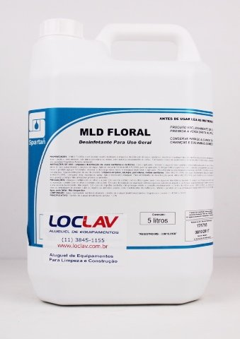Desinfetante mld floral 5 lts