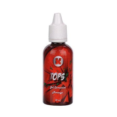 Gel Comestivel Para Sexo Oral Excitante e Lubrificante Morango 30ml