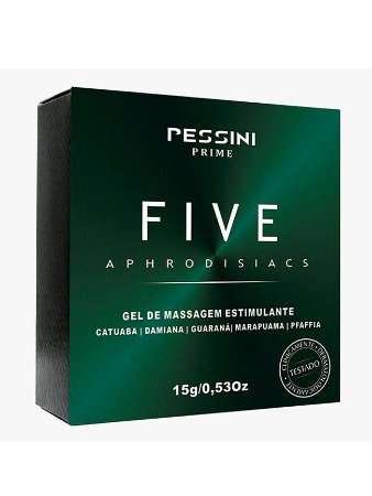 Excitante Unissex Five Afrodisíaco 15g - dihot50