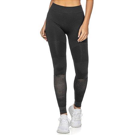 Legging Fitness Sem Costura Highlight Preta - 6002