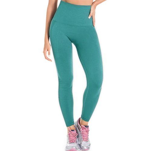Legging Fitness Modeladora Sem Costura Verde - 0502