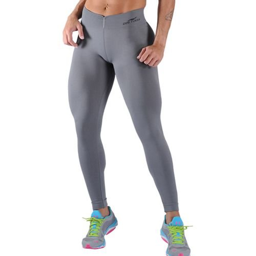 Legging Fitness Sem Costura Cinza - 0504