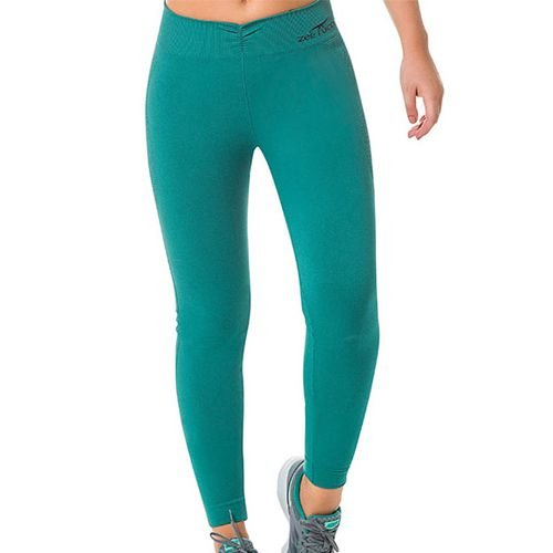 Legging Fitness Sem Costura Verde - 0505
