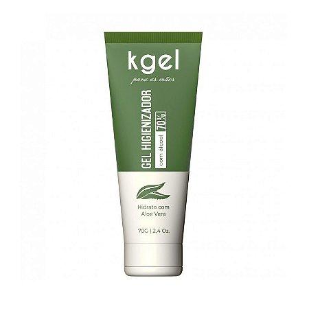 Gel Higienizador para as Mãos Alcool Gel 70% 70g - 9014
