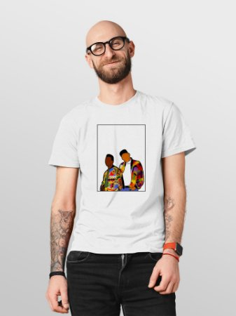 Camiseta T-Shirt Jon Cotre Estampada - The Fresh Prince Of Bel Air