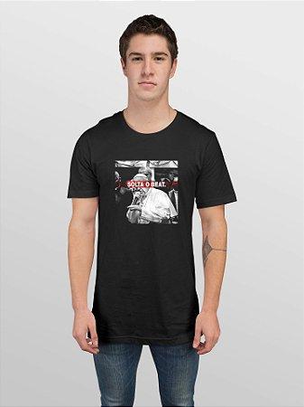 Camiseta T-Shirt Jon Cotre Estampada - Papa Solta o Beat