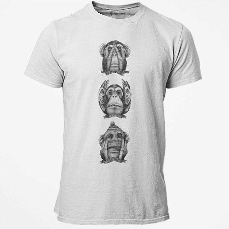 Camiseta T-Shirt Jon Cotre three monkeys