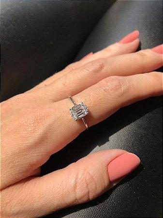 Anel Clássico de diamante
