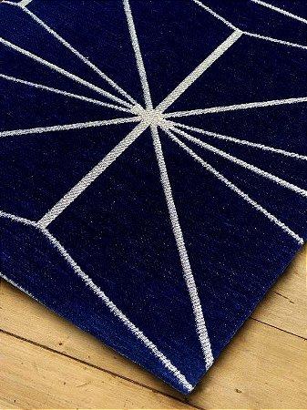 Tapete Cosmopolitan 341-7911 Azul - 0,70 x 1,40