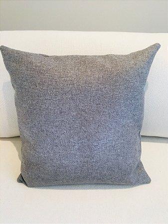 Capa Almofada Lisa - cinza escuro - 50 X 50