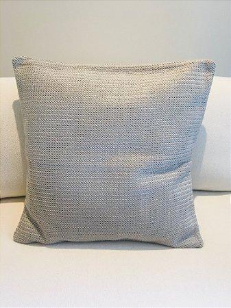 Capa Almofada Tricot - cinza escuro - 60 X 60