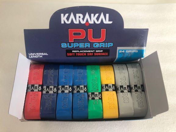 Caixa Grip Karakal PU Super Assorted c/ 24 unidades