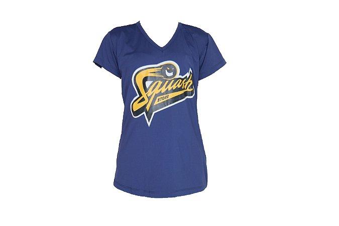 Camisa Squash Store Feminina Azul