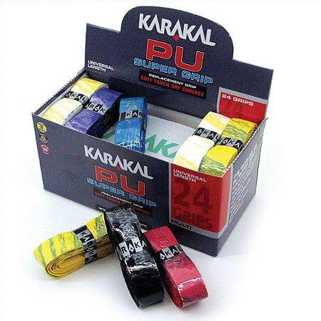 Caixa Grip Karakal PU Super Multi c/ 24 unidades