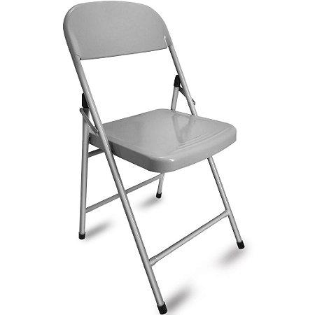 Cadeira Dobrável Happy Hour - Prata