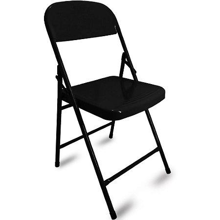 Cadeira Dobrável Happy Hour - Preto