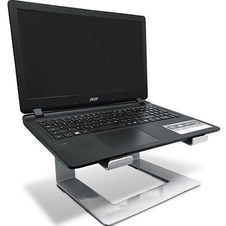 Suporte para Notebook Laptop Stand Dj em Aço Macbook - Branco