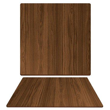 Tampo de Mesa de Jantar em Mdf Quadrado 90cm X 15mm na Cor Villandry