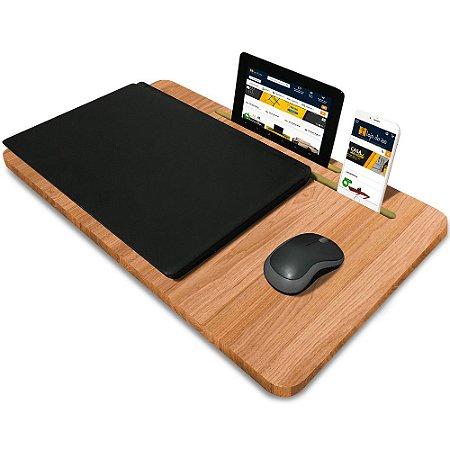 Suporte Mesa para Notebook Slim Tablet Celular para usar na Cama 56cm x 33cm Jade