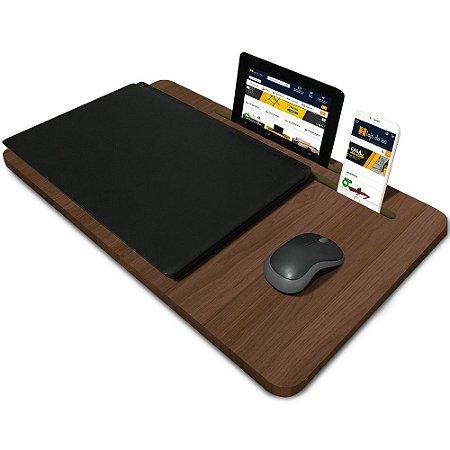 Suporte Mesa para Notebook Slim Tablet Celular para usar na Cama 56cm x 33cm Villandry