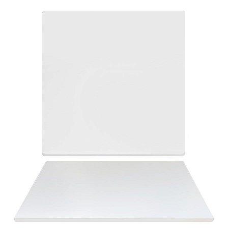 Tampo Quadrado 100cm - Branco