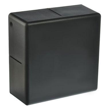 Luminária Arandela LED 6W Cubo Branco Quente Preto