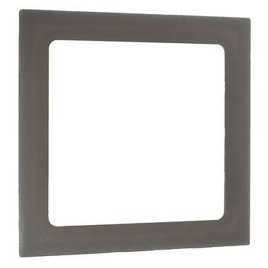 Luminária Plafon 12W LED Embutir Quadrado Branco Quente Marrom