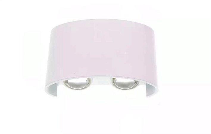 Luminária Arandela LED 4W Externa Branco Quente Branca