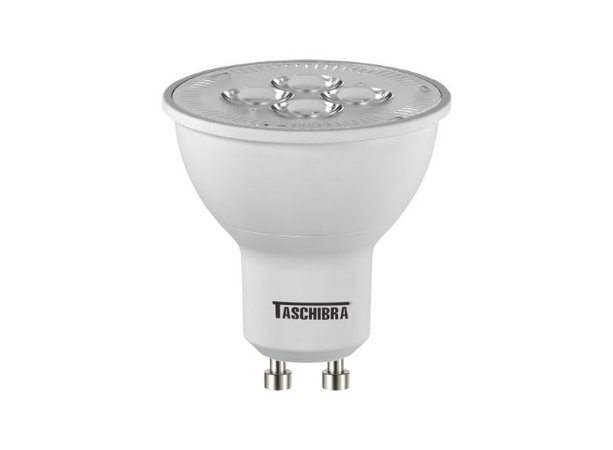Lâmpada LED Dicroica 5W GU10 Autovolt RGB com Controle | Inmetro