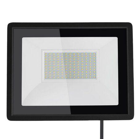 Refletor MicroLED Ultra 100W Branco Frio Black Type