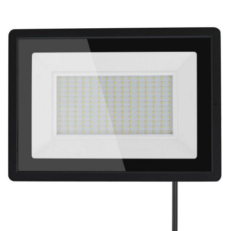 Refletor MicroLED Ultra 150W Branco Frio Black Type