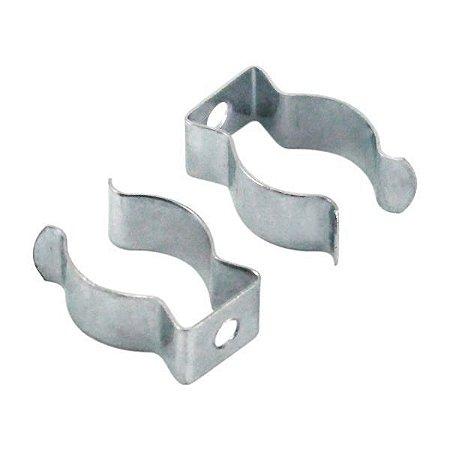Abraçadeira Metálica para Lâmpada LED Tubular T8 - 2 Unidades