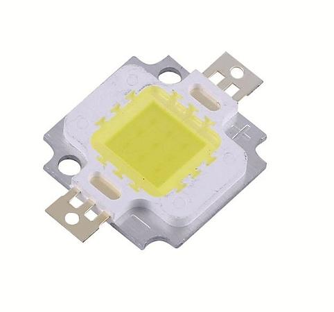 Chip de Refletor LED 10w Branco Frio - Reposição
