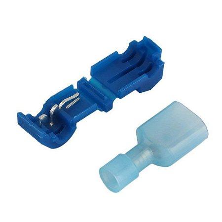 Conector Rápido Derivação Azul para Fios 1,5 a 2,5mm
