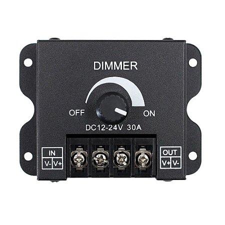 Dimmer Controlador Ajustável 30A Para Fita Led 1 Cor