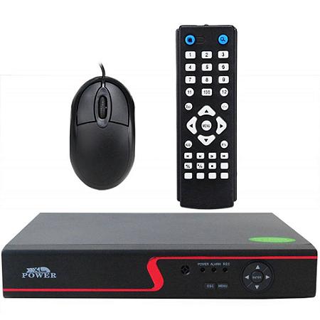 DVR Stand Alone 8 Canais AHD-M Full HD para Sistema de Segurança CFTV
