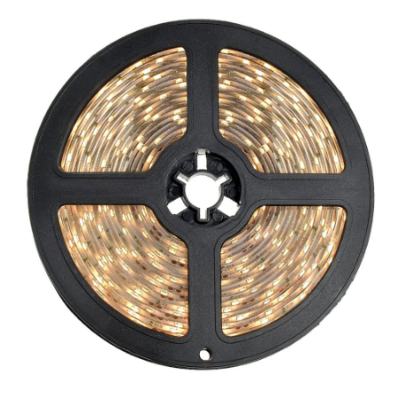 Fita LED 3528 Branco Quente 5 Metros IP65 - À prova d'água - 24W