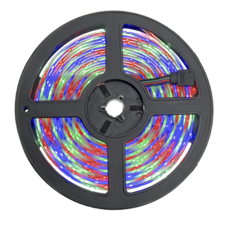 Fita LED 3528 RGB 5 Metros IP20 - 24W