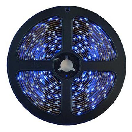 Fita LED 5050 Azul 5 Metros IP65 - À prova d'água - 72W