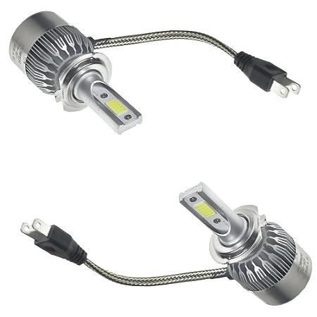 Kit Farol LED C6 H7 Automotivo com Cooler 6500K