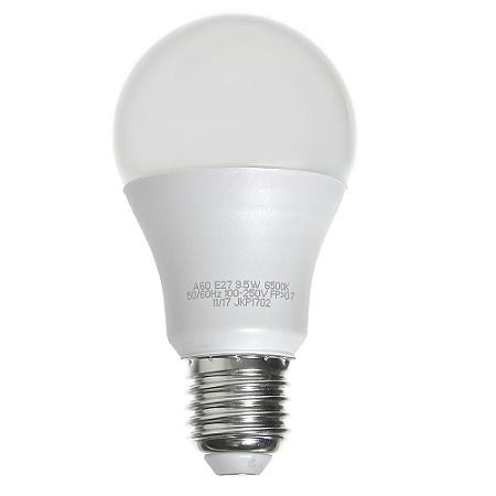 Lâmpada Bulbo LED A60 9,5W Bivolt Branca - Amarela   Inmetro