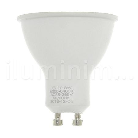 Lâmpada Dicroica LED GU10 8w Branco Frio | Inmetro