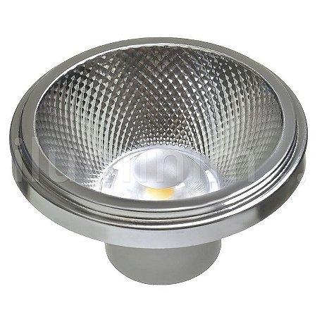 Lâmpada LED AR111 10W de Embutir Branco Frio   Inmetro