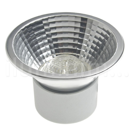Lâmpada LED AR70 7w Gu10 Branco Frio   Inmetro
