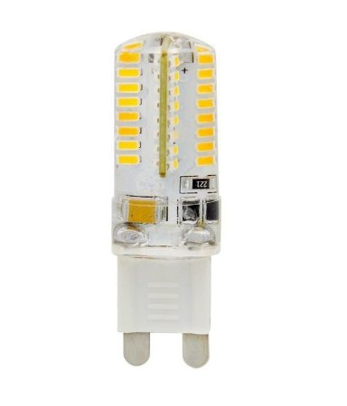 Lampada LED Halopin G9 3w Branco Frio 110V   Inmetro