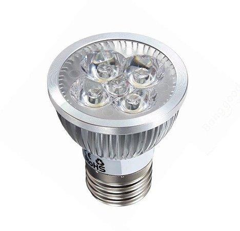 Lâmpada LED Par20 5W E27 Bivolt Branco Quente  Inmetro